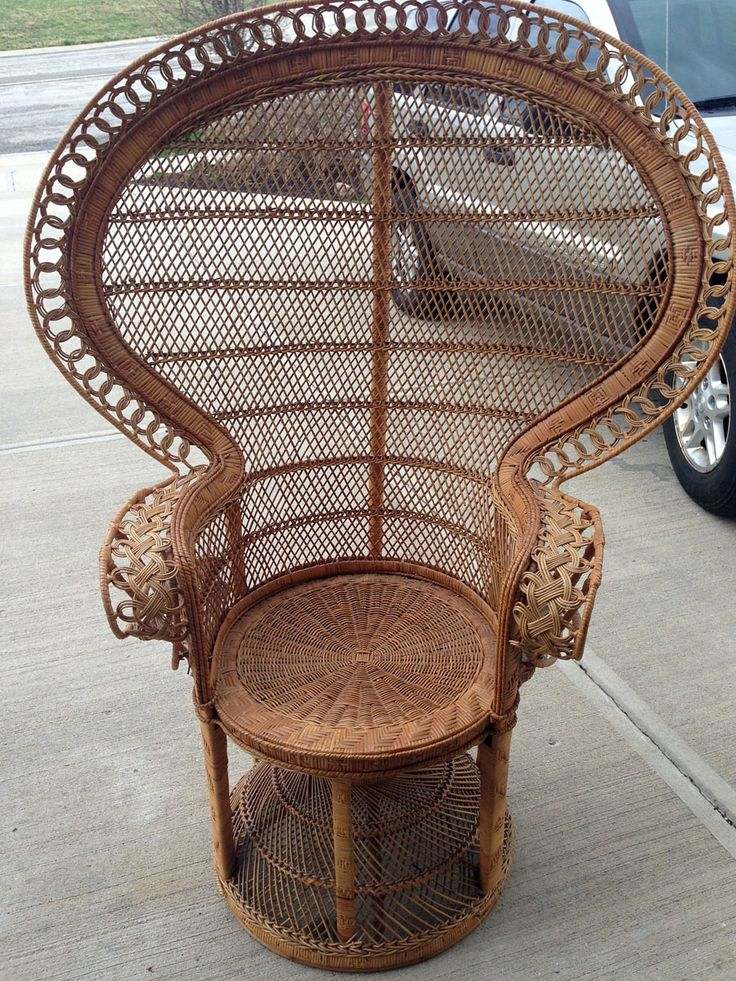 67 best WICKER CHAIRS images on Pinterest Armoires Back porches