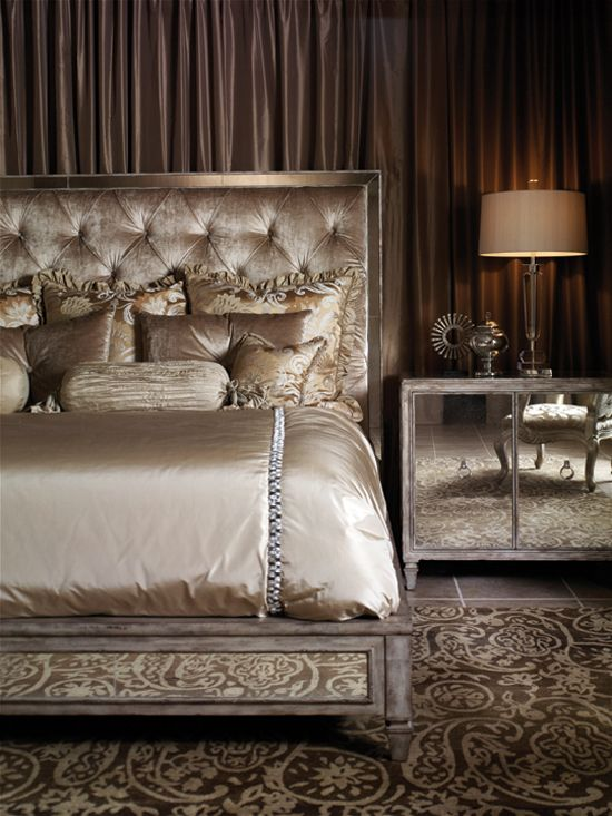 Decor | Fashionismo | Thereza Chammas - Page 214  Hollywood Glamour  BedroomHollywood ...