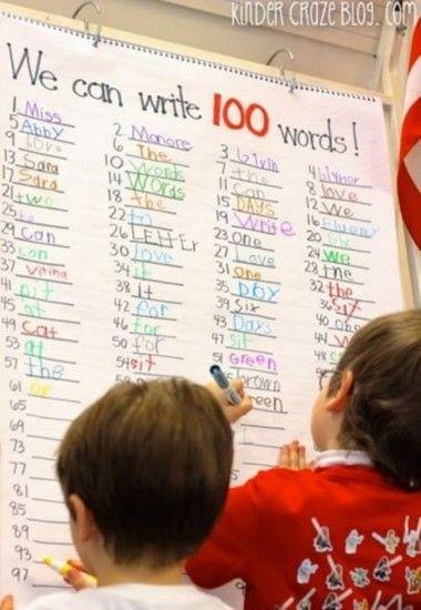 45 Best 100th Day of School Resources - 100 Days 100 Words - Teach Junkie