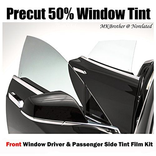 10-15 Toyota Prius 50% VLT Light Smoke Computer Precut Front Window Tint Film Kit  Front window tint Driver and Passenger Side  No cutting required, easy installation  99% UV Rejection  5 Years Limited Warranty  Film Shade: 20% VLT Light Smoke
