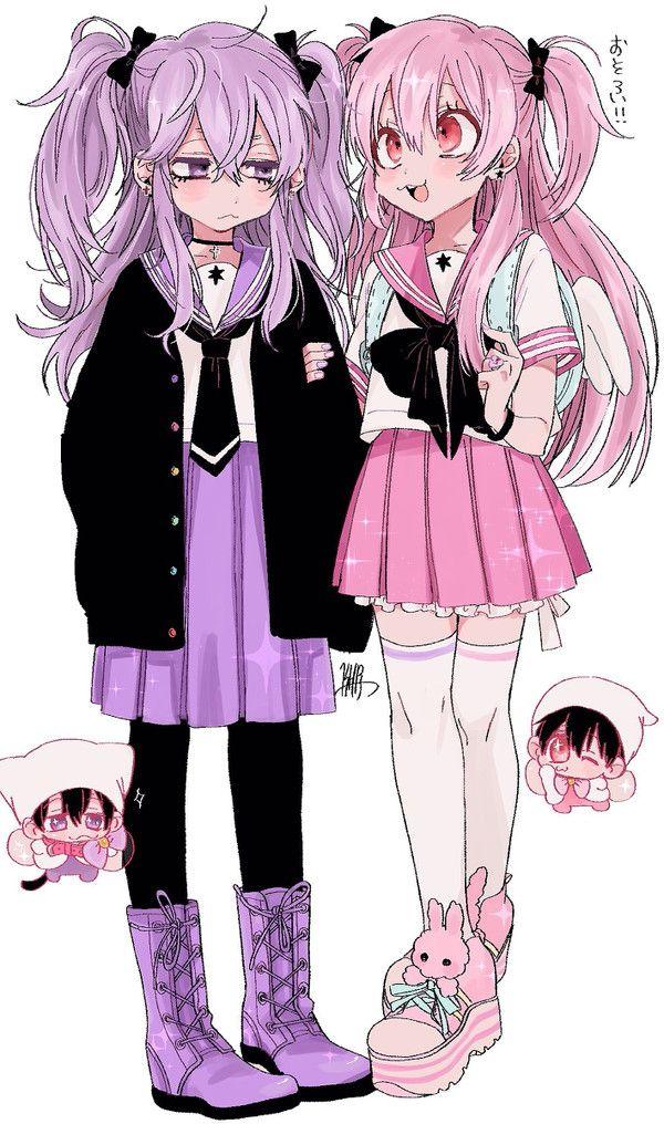 Ichimatsu & Todomatsu - Ichiko & Todoko