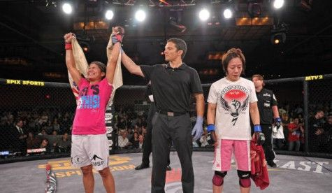 Jessica Aguilar ready to become a champion
