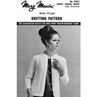 Mary Maxim - Ladies' Chanel Jacket Pattern