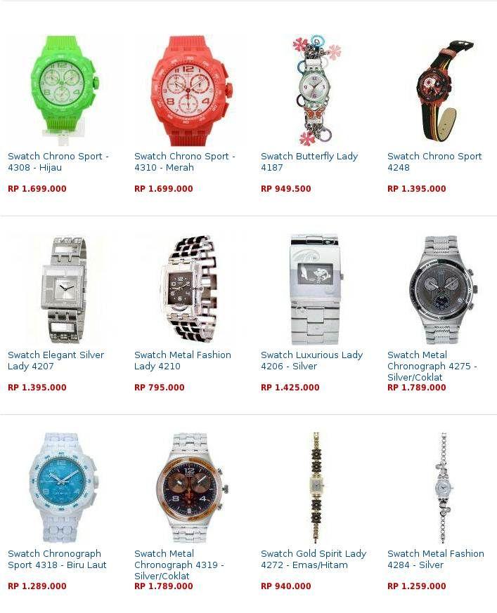Daftar Harga Jam Tangan Swatch Original Terbaru