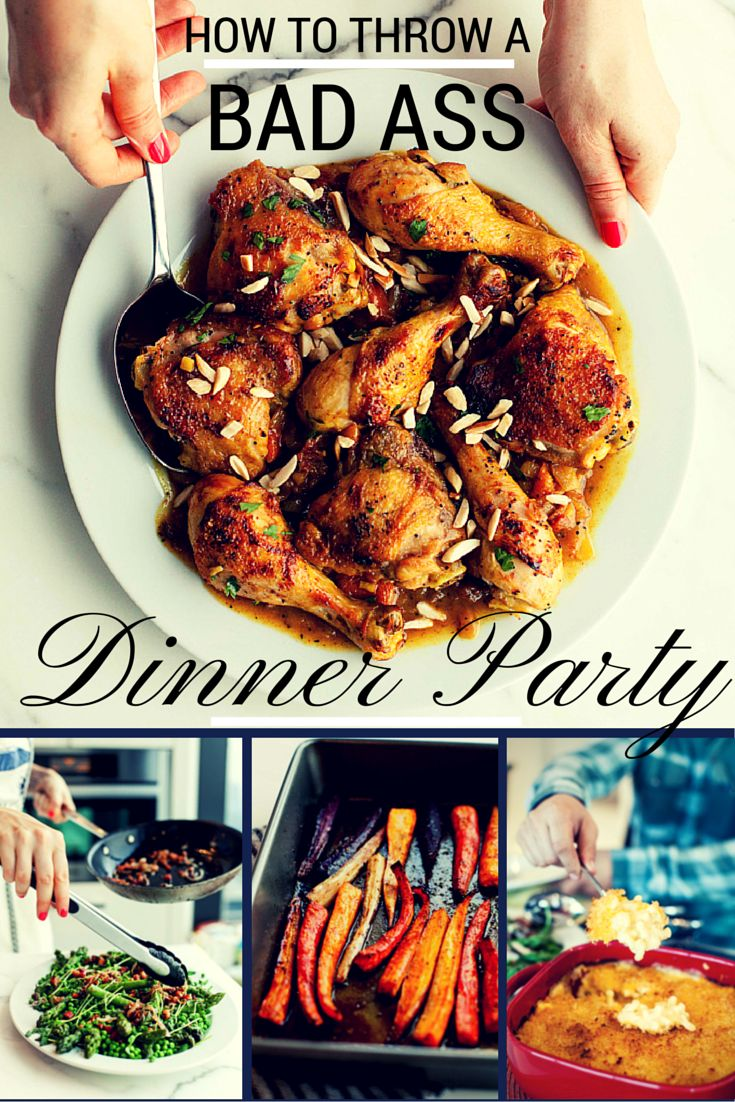 THE BEST how to tips on throwing a dinner party without stress!