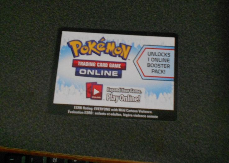 Pokemon On Line Code for Trading Card Game X2