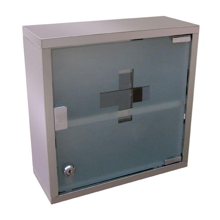 Zone 300 x 300 x 150mm Single Door Mirrored Medicine