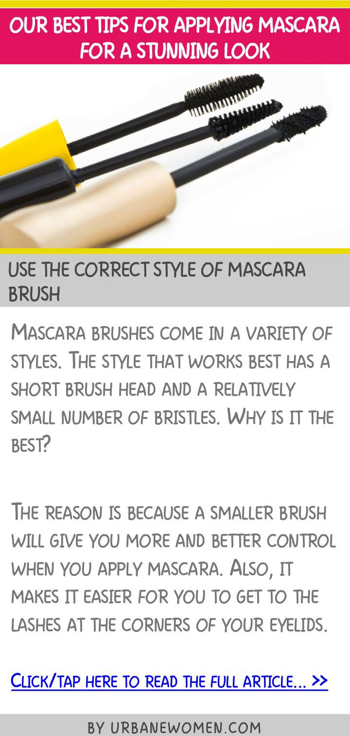 Our Best Tips For Applying Mascara For A Stunning Look