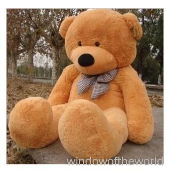 Großhandel Neue Ankommende Riesen 78 & Amp; Quot ; Teddybärplüsch Huge Soft Toy 200cm Hellbraun Von Windowoftheworld, $89.01 Auf De.Dhgate.Com | Dhgate