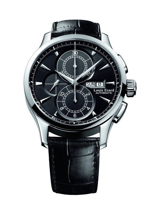 Louis Erard 1931 Collection Swiss Automatic Black Dial Men's Watch 78220AA02.BDC51  #LouisErard #Watches #LouisErardWatches #menwatches