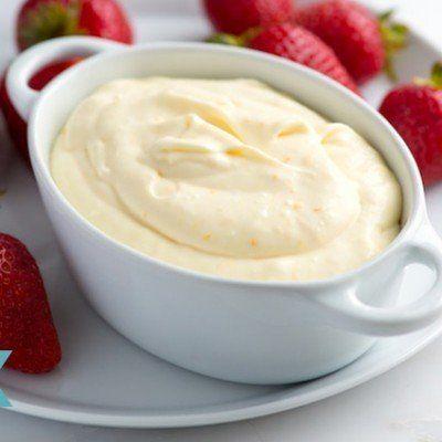 Orange Cream Fruit Dip Recipe
