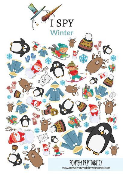 I spy Winter