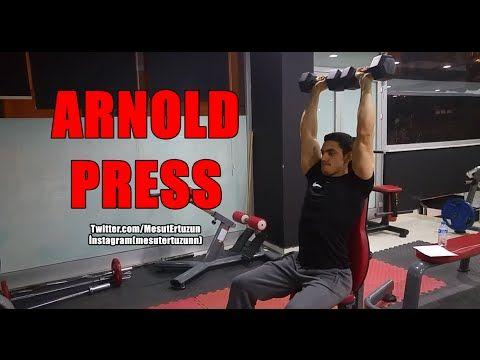Vücut Geliştirme Hareketleri - Arnold Dumbbell Press
