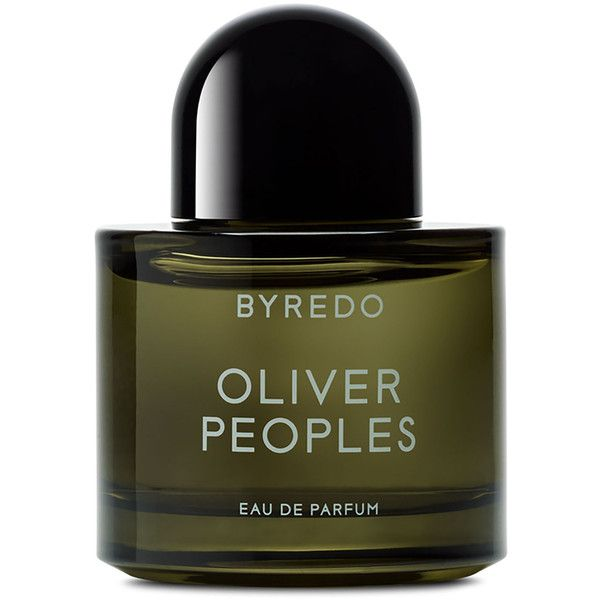 Byredo Oliver Peoples Green Eau de Parfum (£125) ❤ liked on Polyvore featuring beauty products, fragrance, beauty, perfume, makeup, fillers, edp perfume, byredo, perfume fragrances and eau de perfume