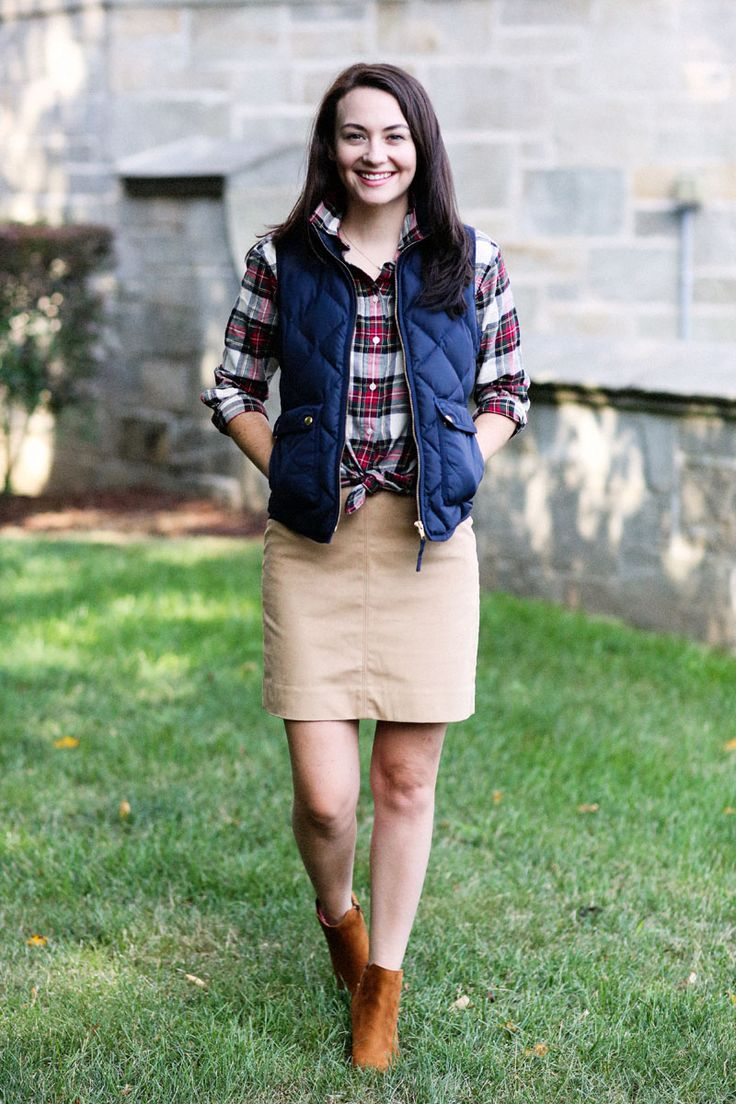Preppy Fall Outfit Inspiration