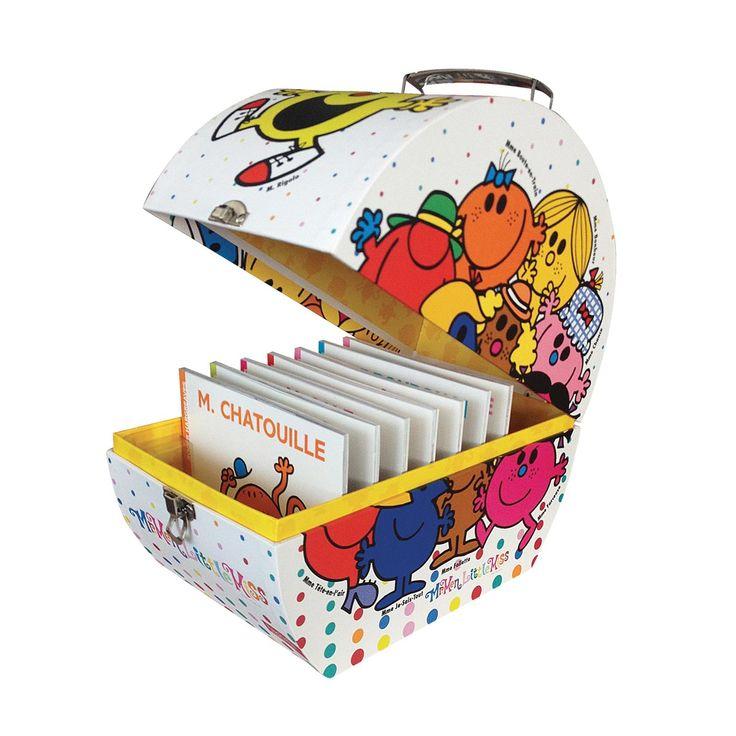 Livre Coffret collector Monsieur Madame pour enfant de 4 ans à 8 ans - Oxybul éveil et jeux