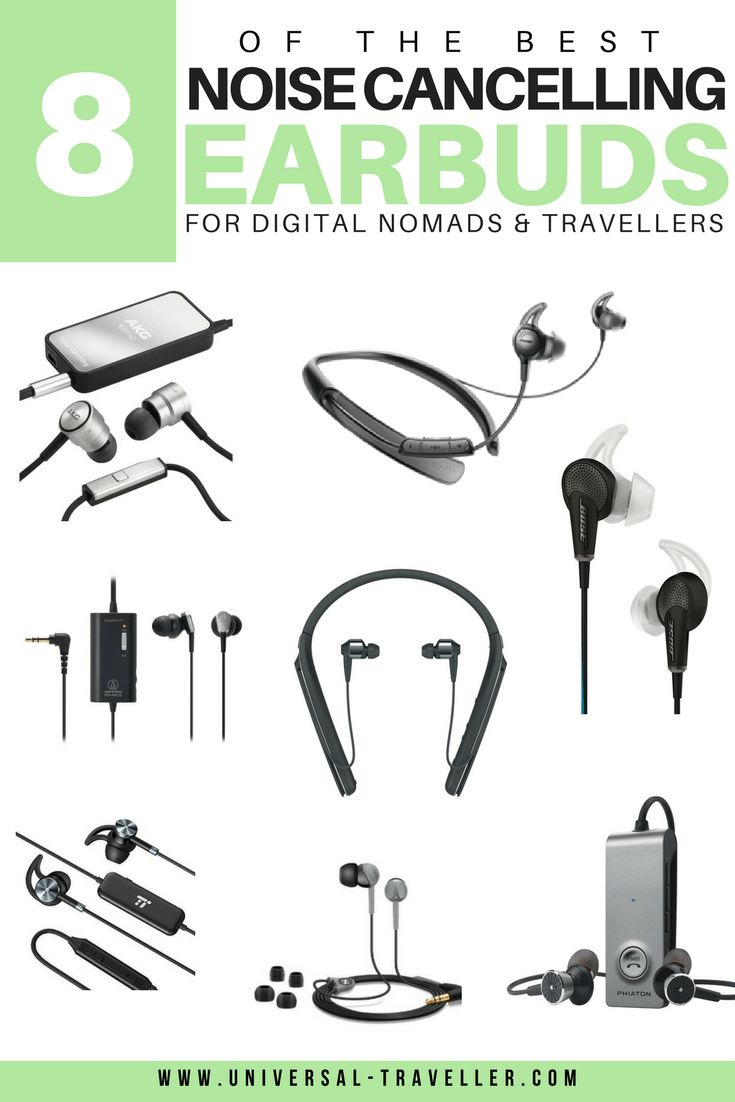 Best Noise Cancelling Earbuds 2017 - best bluetooth noise cancelling earbuds, best wireless noise cancelling earbuds & best cheap noise cancelling earbuds.