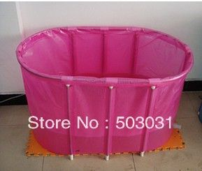 Fast Shipping Wholesale Retail adult folding Portable bathtub / bath tub with cushion for lover baby pool-in Tubs from Home & Garden on Alie...