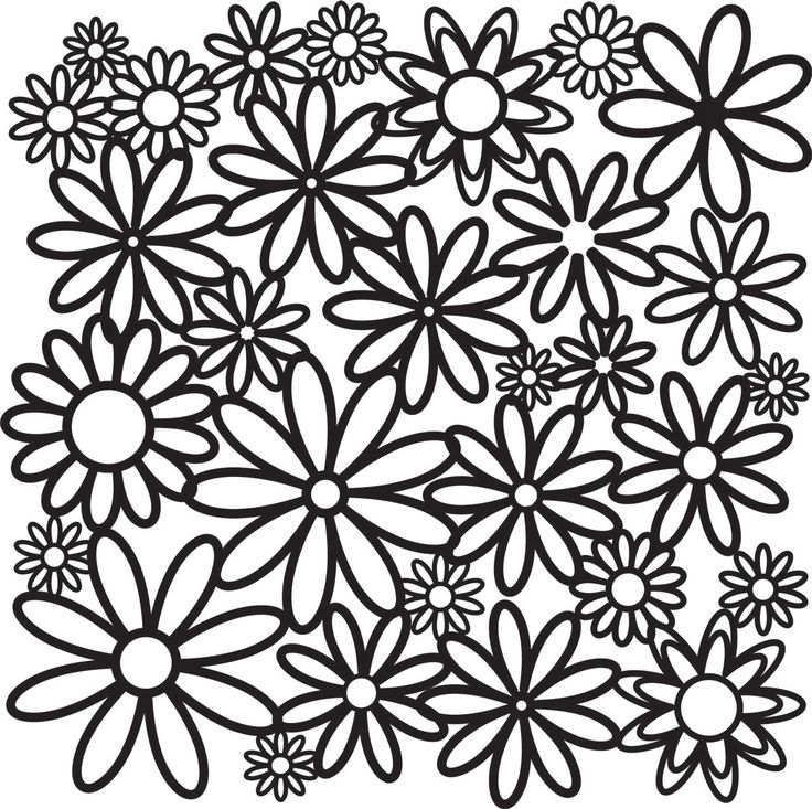 daisy girl scout coloring pages all the different daisies