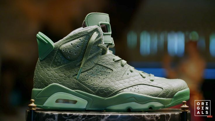 Macklemore exclusive Jordan 6