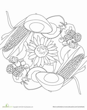 107 Best Images About Food Mandalas Amp Coloring On
