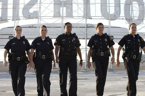 women in law enforcement. NOT an easy job.