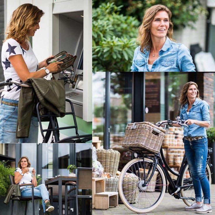 """Gefällt 9 Mal, 2 Kommentare - Batavus Germany (@batavus_germany) auf Instagram: """"Mit dem richtigen Begleiter ist Shopping mit dem Rad ein echter Genuss! X-posure E-go mit…"""""""
