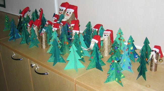 Joulukuuset ja joulupukki ja -muori. www.kolumbus.fi/mm.salo