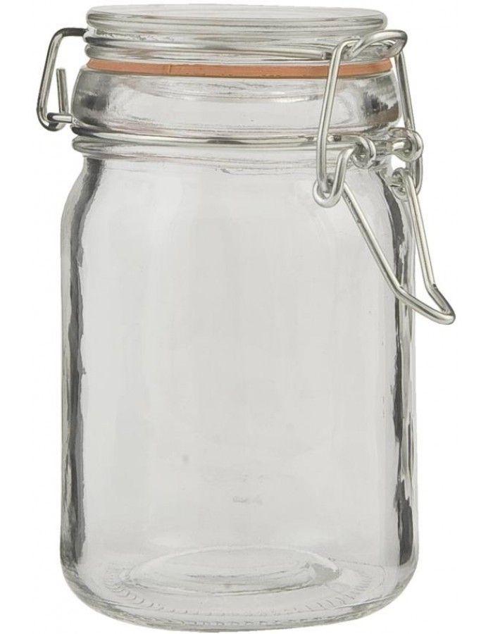 Einmachglas mit Bügelverschluss Ø 7 x 12 cm
