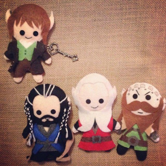 Thorin and Balin plushies made to order