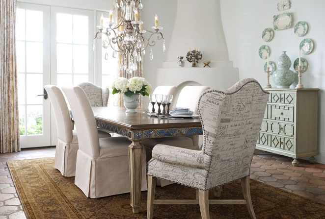 Horchow Dining Chairs: I