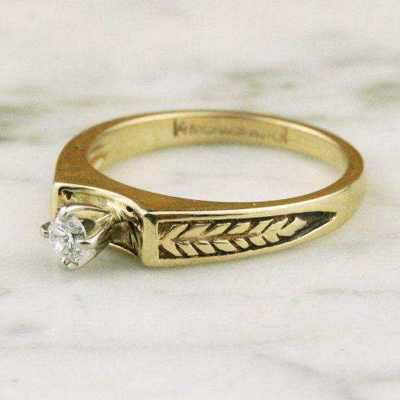 Solitaire Diamond Rings On Pinterest