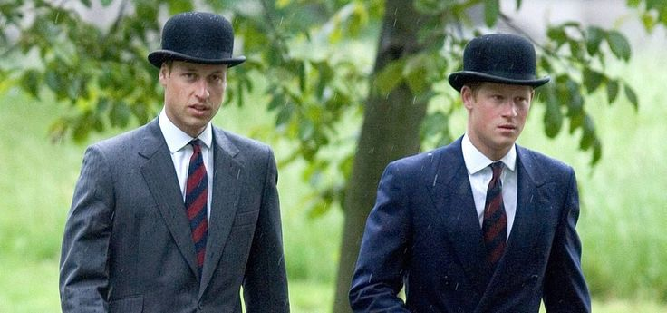 Prince William & Prince Harry attend The Combined Cavalry Old Comrades Association annual Parade in Hyde Park, London.  Picture: UK Press