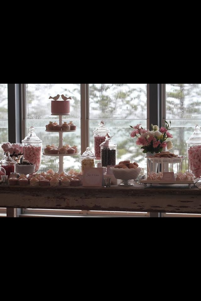 Love this lolly buffet!!