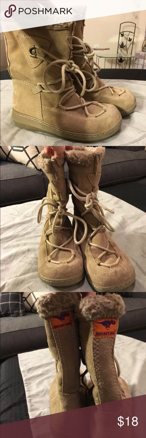 Rocket Dog Sueded Winter Boots Rocket Dog boots- warm & comfortable!  Size 7 Rocket Dog Shoes Winter & Rain Boots