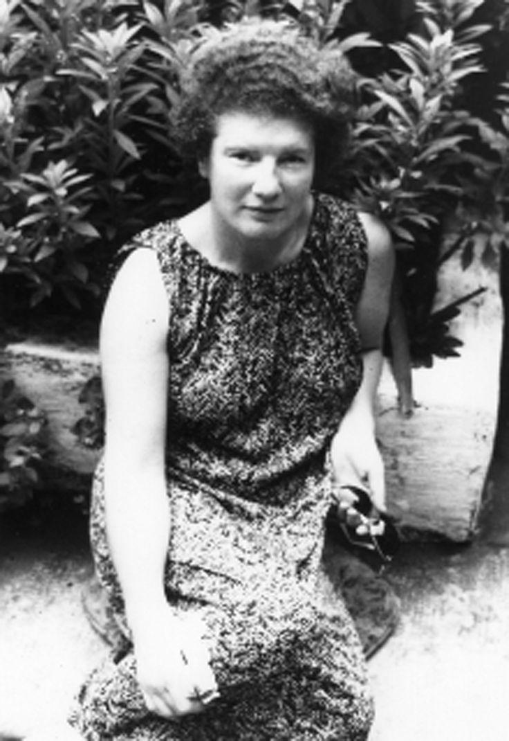 Janet Frame, New Zealand author.