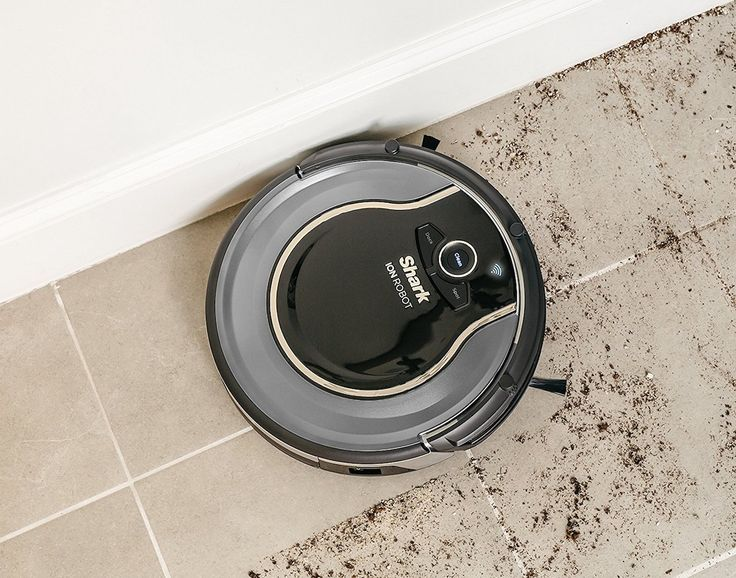 Keep your home clean even when you're away with the Shark ION ROBOT Voice Control Robotic Vacuum, which comes with a self-cleaning brushroll.