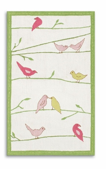 Baby girl nursery rugBirds Trees, Adorable Stitches, Stitches Birds, Birds Rugs, Girls Bedrooms, Kids Room, Rugs Marketing, Baby Room, Baby Girls