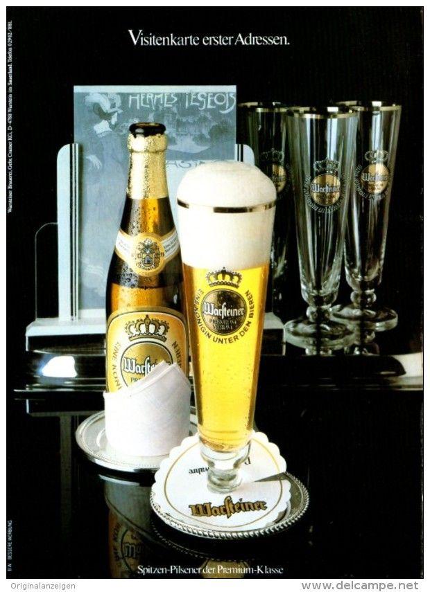 Original-Werbung/ Anzeige 1981 - 1/1 SEITE - WARSTEINER BIER - ca. 180 x 240 mm