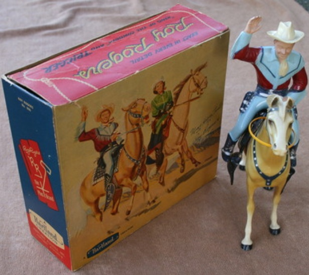 1950 Christmas Toys For Boys : S roy rogers trigger with box remember