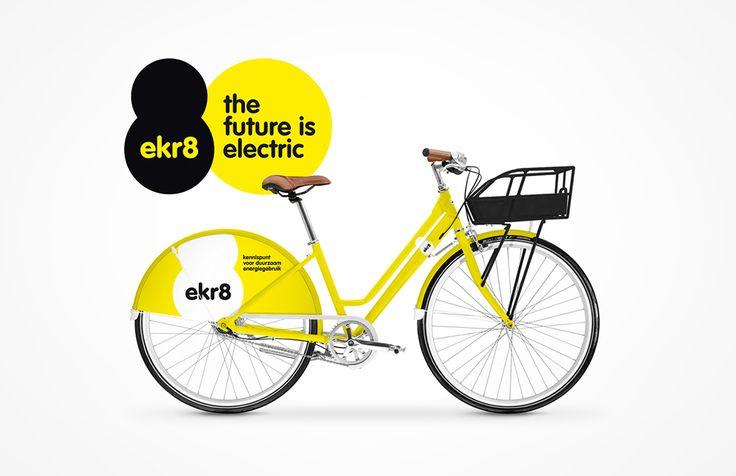 ekr8 - Fiets | by Skinn Branding Agency
