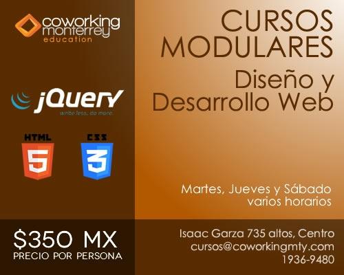 Cursos Modulares | Coworking Monterrey - Espacio Creativo