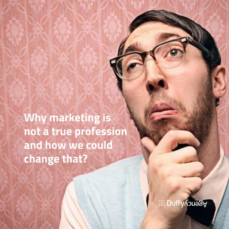 Sorry, You Are Not a Marketing Professional (and Neither Am I).  Why marketing is not a true profession and how we could change that? Read here: http://bit.ly/MarketingProfession