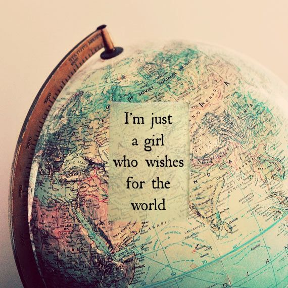 Quote about travelling the world