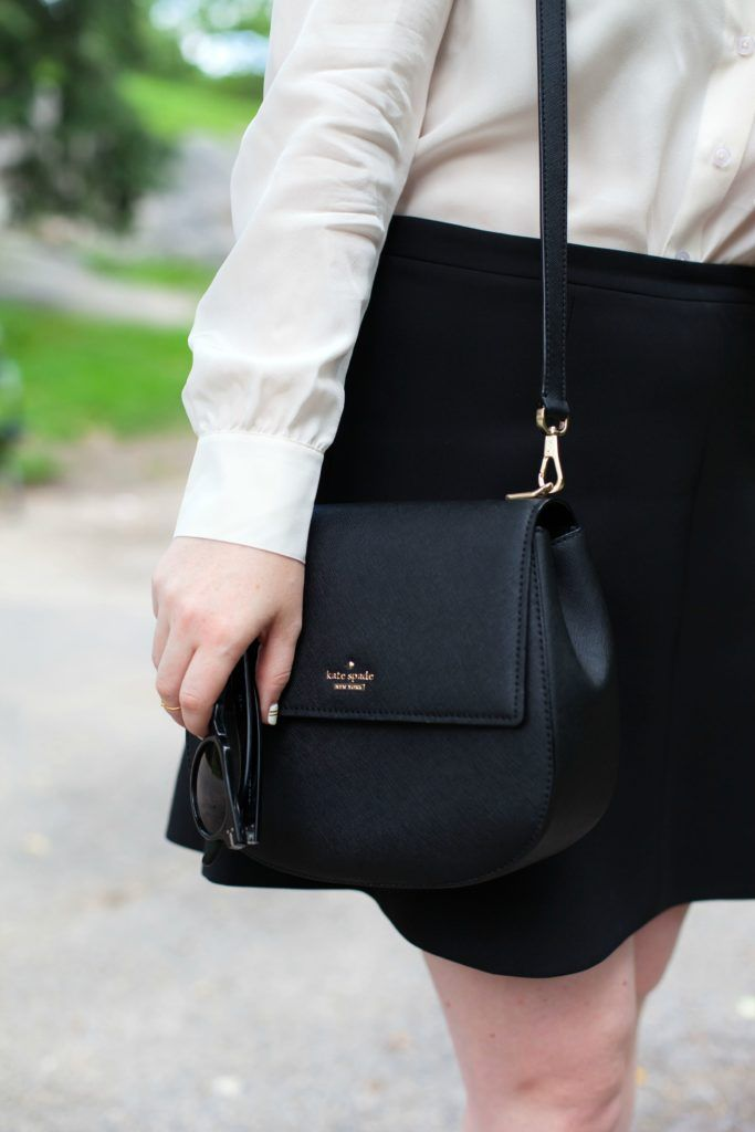an afternoon in central park with wit whimsy and the kate spade new york cameron street byrdie bag.