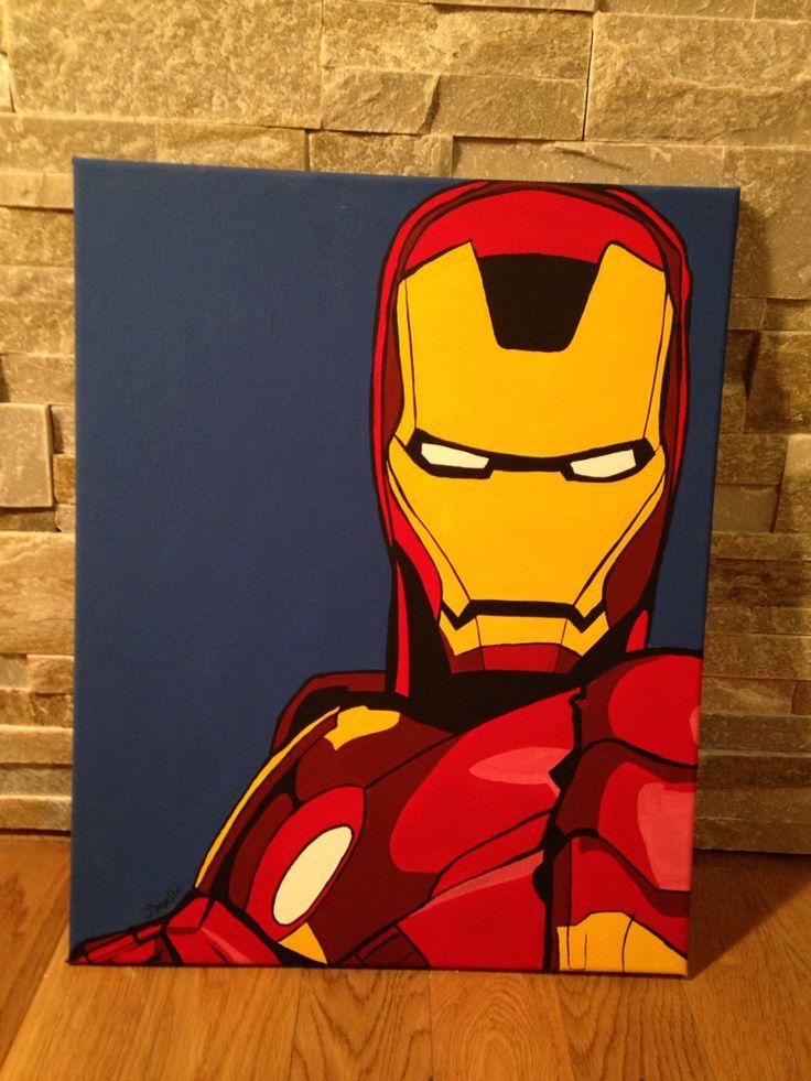 Iron Man / pop art / Barbo