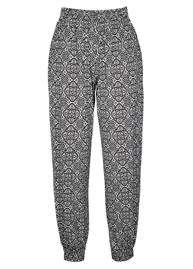 Monotone printed soft pant - Millers