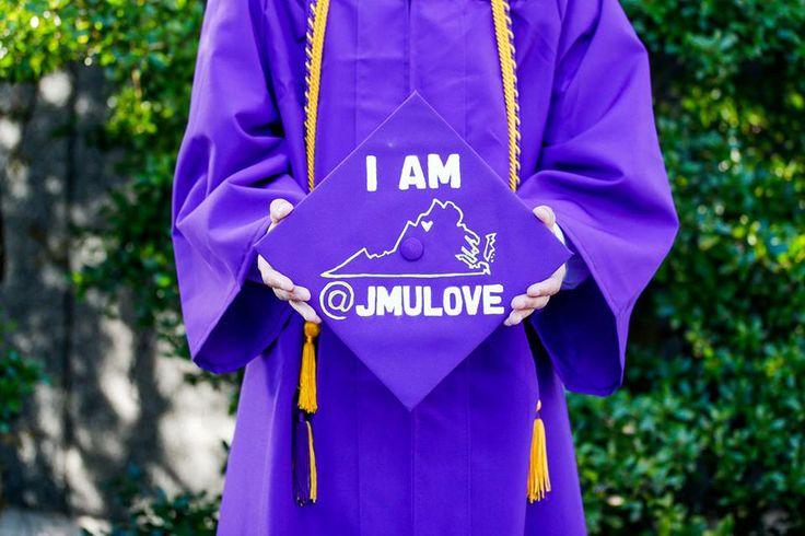 Jmu Graduation Cap Jmu Dukes Pinterest Graduation