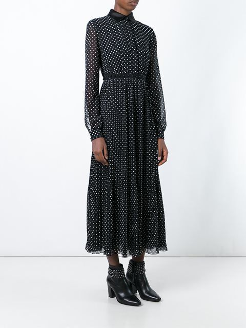GIAMBA polka dot shirt dress. #giamba #cloth #dress
