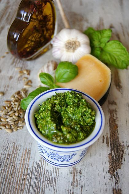 Pesto z bazyli #thermomix #pesto
